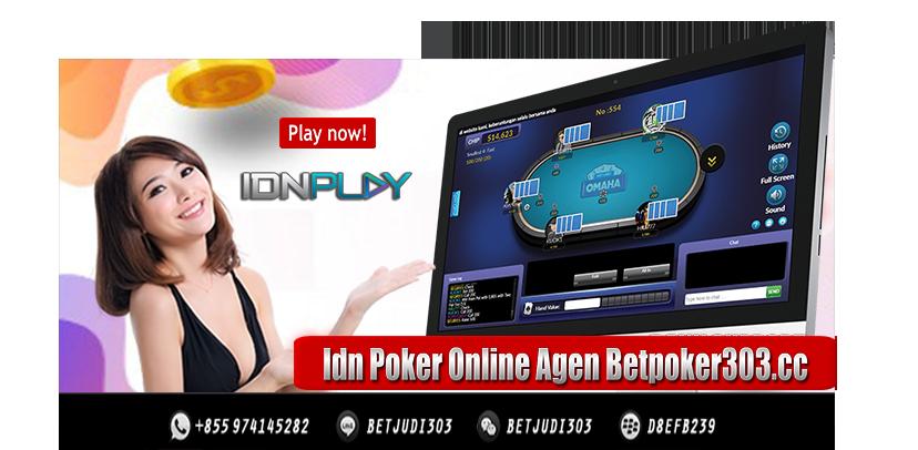 Idn Poker Online Agen Betpoker303